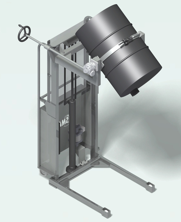 Volteador de bidones HB250F